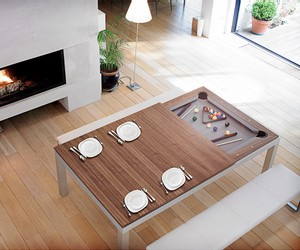 tables de billard convertibles
