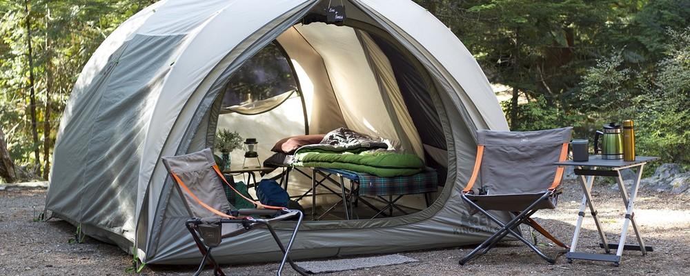 monter une tente de camping